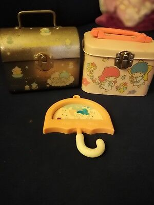 Little Twin stars Sanrio, hello kitty 70er 80er, VINTAGE Sammlung Set Blech Dose