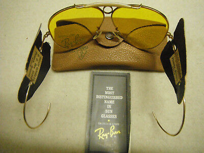 Vintage Rayban Shooting Glasses With Case