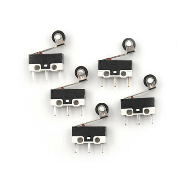 5 x Ultra Mini Micro Switch Roller Lever Actuator Microswitch SPDT SubMiniaturWR