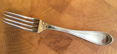 H.B. Stanwood Coin Silver Fork-Boston