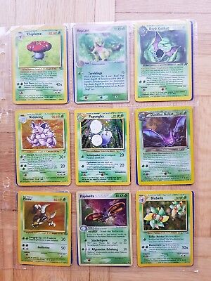 Pokemon Karten Sammlung, 1. Generation, Basis Set