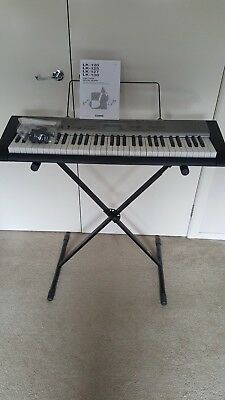 Casio Keyboard LK-120 With Stand and Manual (Very good condition)