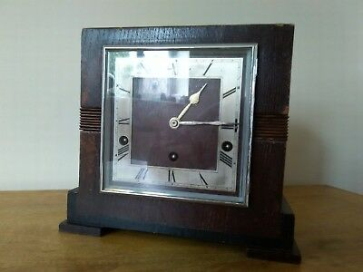 Vintage GARRARD Westminster Chime Mantel Clock by Chas Hart and Sons