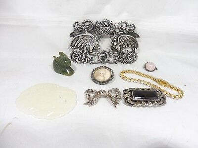 A Lot Of Sterling Silver Jewelry And Other Oddities