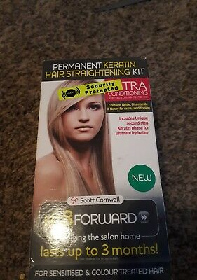 Ultra conditioning keratin permanent hair straightening kit!