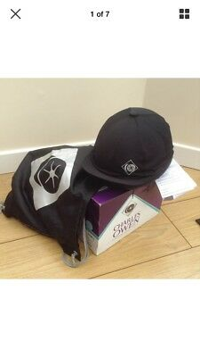 Charles Owen J3 Skull (new) - Free hat bag and silk. Size 3
