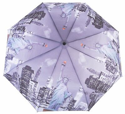 Knirps Belami Folding Telescopic Umbrella Automatic Open & Close New York