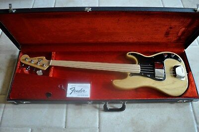 Fender Precision Bass Fretless 1977