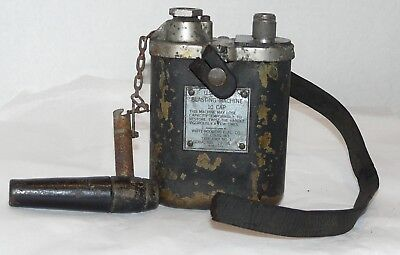 Vtg~WW2~US Army~10 Cap BLASTING MACHINE~WHITE RODGERS ELECTRIC~WWII