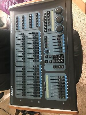 jands event 408 professional lighting mixing board