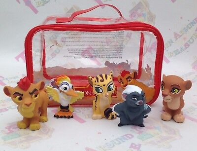 Disney Store The Lion Guard Childrens Bath Toy Figures Set of 5