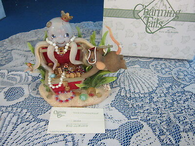 Charming Tails - You're A Treasured Friend 89/261 - Octopus - NEW IN BOX