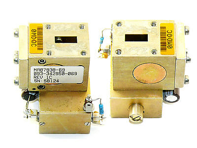 WR42 Gunn Oscillator 20,00 to 22.200GHz 15dBm 37mW with isolator 1pcs