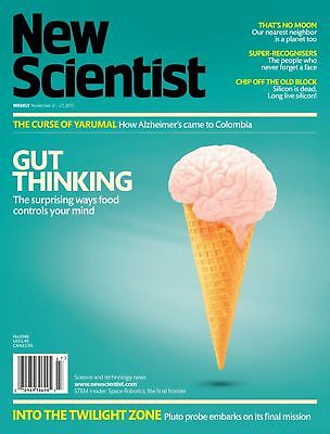 NEW SCIENTIST MAGAZINE 21st NOV 2015 ~ SPECIAL OFFER BUY ANY 6 ISSUES FOR £10.00