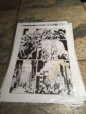 X-FACTOR Original Comic Art Signed By Artist Paul Davidson Issue 246 Page 6 $22