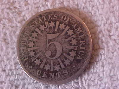 1967 Us Shield Nickel With Rays 150 Years Old