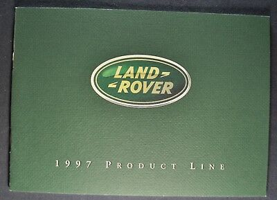 1997 Land Rover Brochure Range Discovery Defender 90 Excellent Original 97