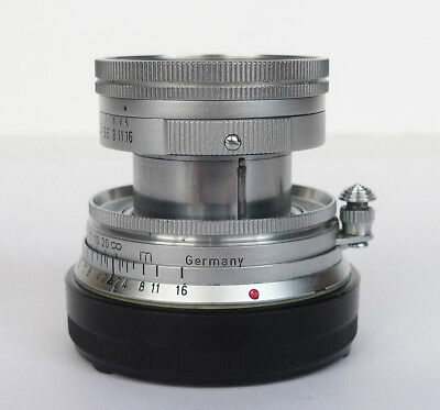 Vintage Leica Summicron-M 50mm f/2 collapsible Rangefinder Lens Germany m2/m3