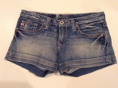 """Womens Big Star Casey Low Rise Jeans Shorts Sz 29 (32"""" Actual Waist) Very Nice!"""