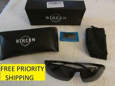 9d4903b0e64 Bircen Polarized Sunglasses FREE PRIORITY SHIPPING 100% UV400 BLACK FRAME  LENS