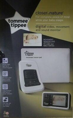 Tommee Tippee Closer to nature digital video monitor+ movement sensor pad