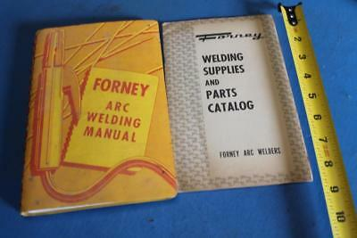 Vintage Forney Arc Welding Manual 1958 & Parts Catalog