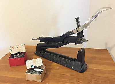 Saddle Stapler and Staples (2 Boxes Included)