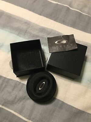 Oakley Watch Vault Case Small Very Rare