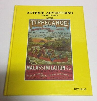 Antique Advertising Encyclopedia Volume 2 with Revised Prices Ray Klug