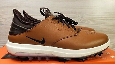 b1db2f5fae84d3  RARE  NIKE AIR ZOOM DIRECT GOLF SHOES Brown White 923965-200 Mens 8.5