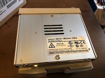 Omron Solid State Power Supply S8Vs-18024A/ed2