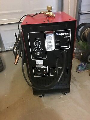 NO RESERVE!!  Snap-On MIG140 Welder! Practically new!!!