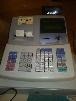 Sharp XE-A41S Programmable Point Of Sale Cash Register