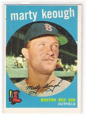 ... Marty Keough 1959 Topps #303 Boston Red Sox ...