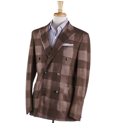 3b9c121e20f869 NEW $1495 VERSACE COLLECTION Slate Blue Stripe Wool Suit Classic-Fit ...