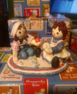 NIB Raggedy Ann and Andy limited edition figurine