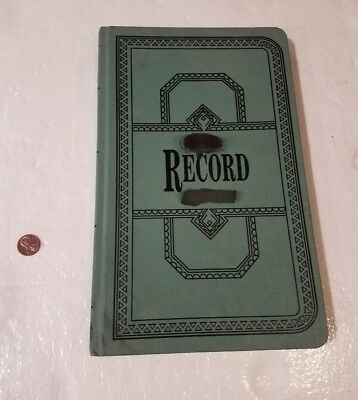 Boorum & Pease Account Book Ledger 66-300-R USED
