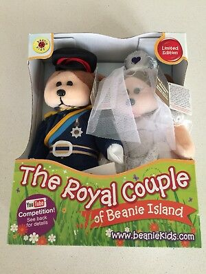 The Royal Couple Beanie Kids Limited Edition William And Kate