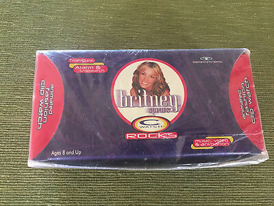 """Britney Spears """"C"""" Watch ROCKS - New - Factory Sealed in Box - Check out video!"""