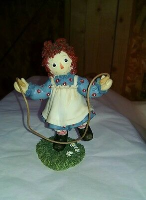 Raggedy Ann numbered figurine