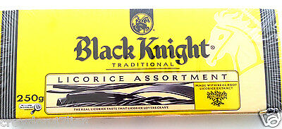 12 x Black Knight Traditional Licorice Assortment