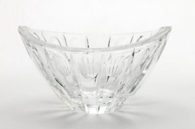 Vintage Signed Lenox Crystal BOWL - Large Heavy