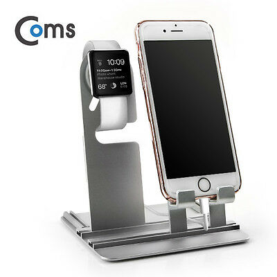 Coms Apple Stand Aluminum for Watch iPhone Charging Holder 122x90x142mm 131g