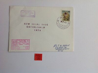 antarctica/ south africa 1979 cover, new sanae base