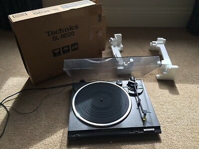 Technics SL-BD20 turntable