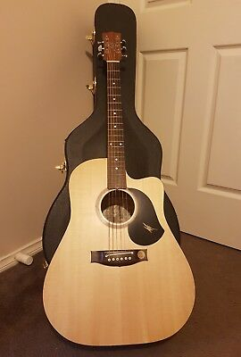 Maton acoustic guitar SRS60C SOLID ROAD SERIES