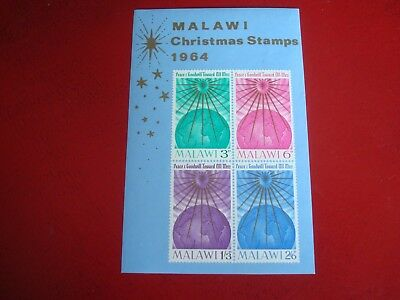 Malawi - 1964 Christmas - Minisheet - Unmounted Mint Miniature Sheet