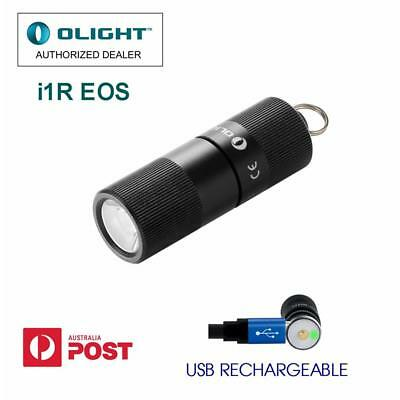 Olight i1r EOS 130 lm USB rechargeable LED key-ring torch/key-chain light/torch
