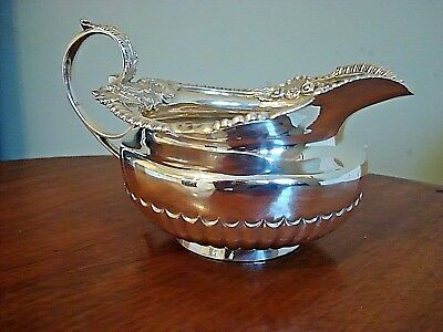 Antique Silver Cream / Milk Jug 1823
