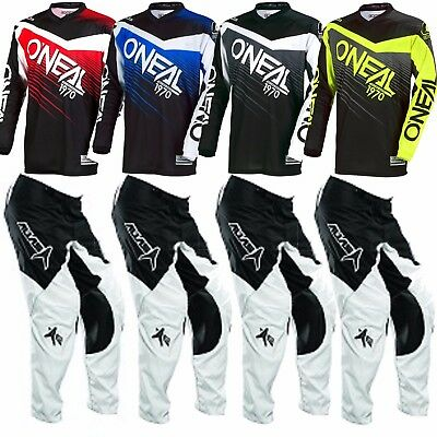 Oneal Alias motorbike bmx pants jersey youth boys kids 18 20 22 24 26 28 (3-14)